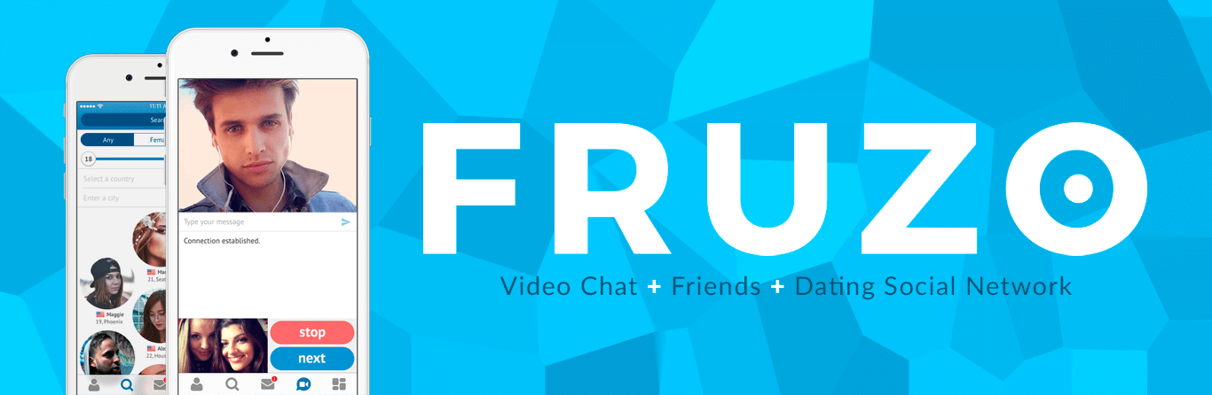 Fruzo dating graphic for press